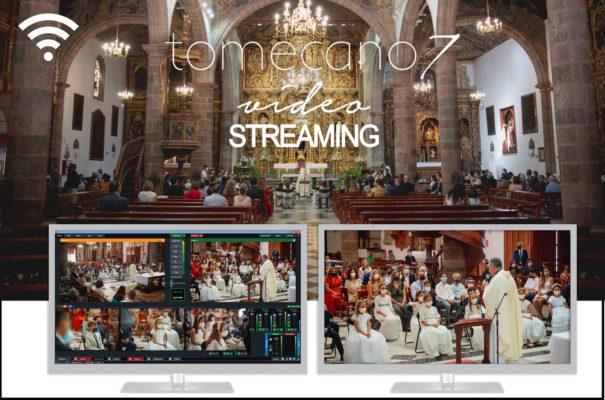 Streaming para comuniones