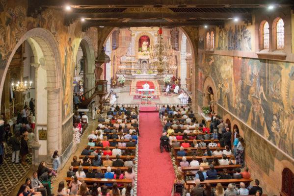 Fotografía iglesia comunión
