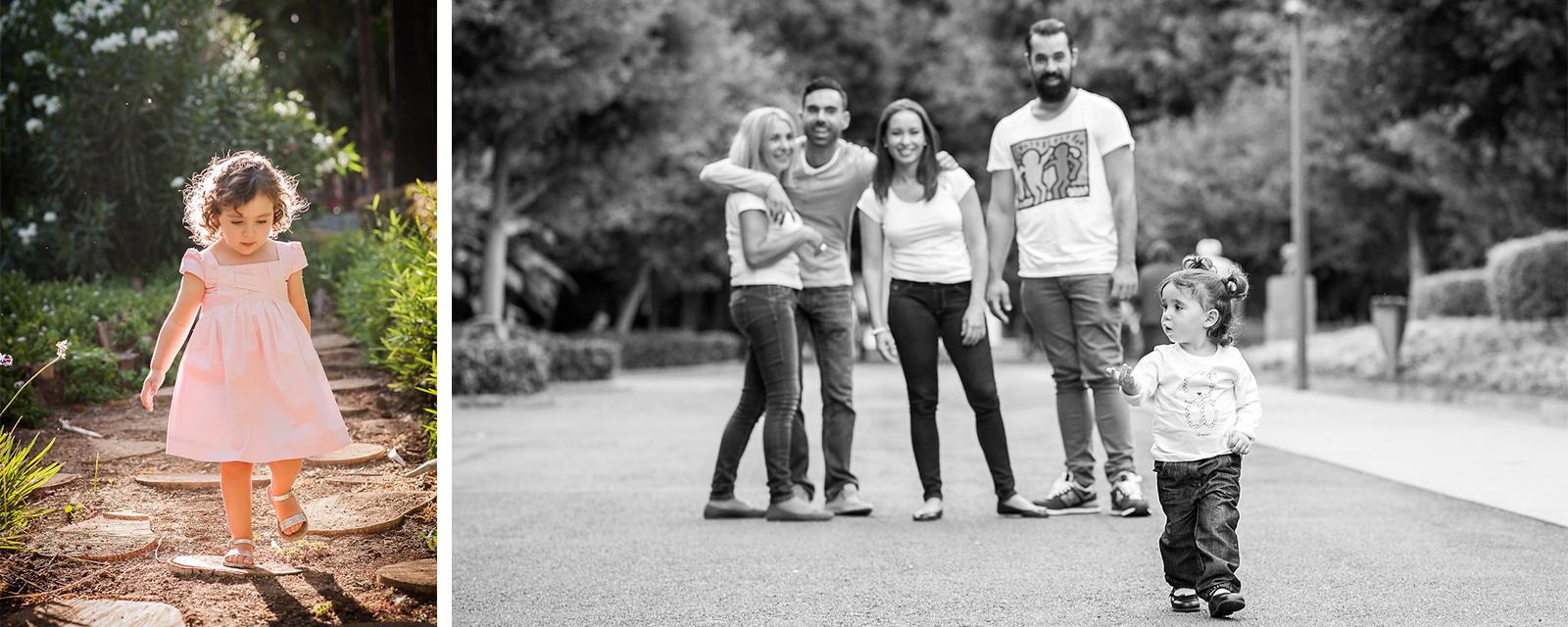 Fotografía con familia.