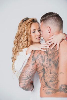 Fotografía de pareja boudoir